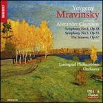Alexander Glazunov: Symphony No. 4, Op. 48; Symphony No. 5, Op. 55: The Seasons, Op. 67