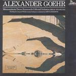 Alexander Goehr: Metamorphosis; Dance Romanza for Cello and Orchestra