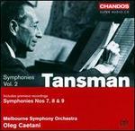 Alexandre Tansman: Symphonies, Vol. 2