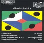 Alfred Schnittke: Works for Violin & Piano, Vol. 11