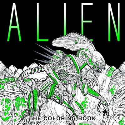 Alien: The Coloring Book - Titan Books