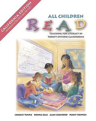 All Children Read, CA Edition (Book Alone) - Temple, Charles A, and Ogle, Donna, Edd, and Crawford, Alan N