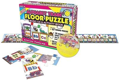 Number Train Floor Puzzle