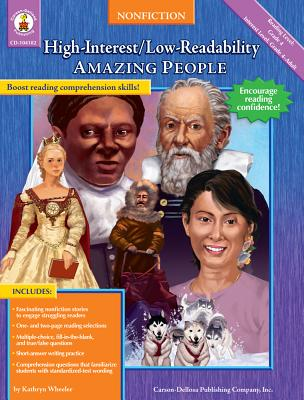 Amazing People: High-Interest/Low-Readability Nonfiction - Wheeler, Kathryn