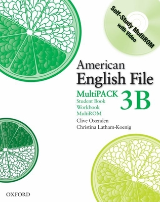 American English File Level 3 Student and Workbook Multipack B - Oxenden, Clive, and Latham-Koening, Christina