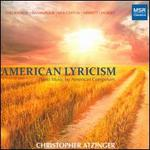 American Lyricism: Piano Music by American Composers