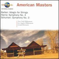 American Masters: Barber, Harris, Schuman - Leonard Bernstein (conductor)