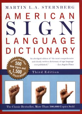 American Sign Language Dictionary-Flexi - Sternberg, Martin L