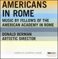 Americans in Rome - Charles Neidich (clarinet); Chris Pedro Trakas (baritone); Collage Music Ensemble; Curiously Strong Wind Quintet;...