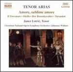 Amore, sublime amore: Tenor Arias