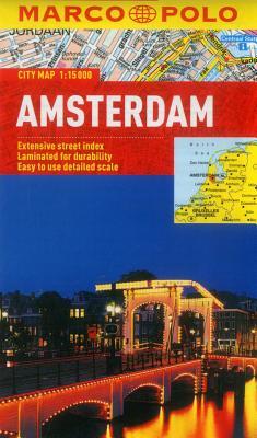 Amsterdam Marco Polo City Map - Marco Polo