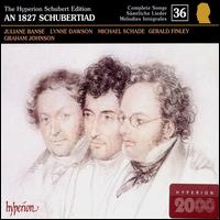 An 1827 Schubertiad (Schubert: The Complete Songs, Vol. 36) - Ashley Catling (tenor); Charles Gibbs (bass); Eugene Asti (piano); Gerald Finley (baritone); Graham Johnson (piano);...