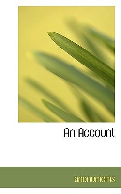 An Account - Anonumems