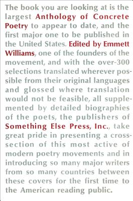 An Anthology of Concrete Poetry - Williams, Emmett (Editor)