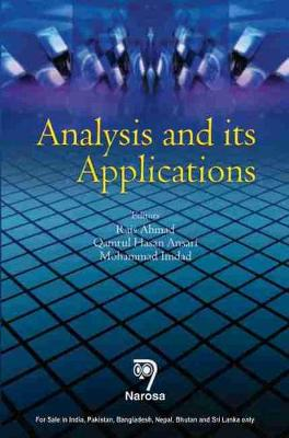 Analysis and its Applications - Ahmad, Rais, and Ansari, Qamrul Hasan, and Imdad, Mohammad