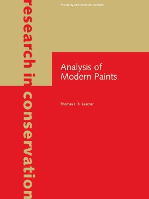 Analysis of Modern Paints - Learner, Thomas J S