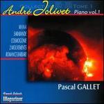 Andr� Jolivet: Pi�ces pour Piano, Vol. 1