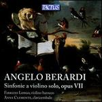 Angelo Berardi: Sinfonie a Violino Solo, Opus VII