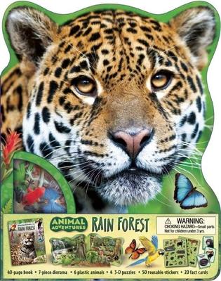 Animal Adventures: Rain Forest - Wilsdon, Christina