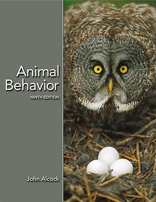 Animal Behavior: An Evolutionary Approach - Alcock, John