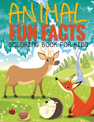 Animal Fun Facts (Coloring Book for Kids) Paperback - Koontz, Marshall