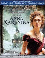 Anna Karenina [2 Discs] [Includes Digital Copy] [UltraViolet] [Blu-ray/DVD]