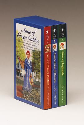 Anne of Green Gables, 3-Book Box Set, Volume II: Anne of Ingleside; Anne's House of Dreams; Anne of Windy Poplars - Montgomery, Lucy Maud