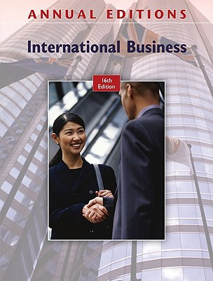Annual Editions: International Business - Maidment, Fred H (Editor)