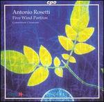 Antonio Rosetti: 5 Wind Partitas