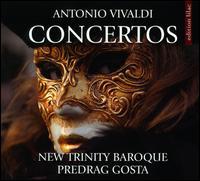 Antonio Vivaldi: Concertos - André Laurent O'Neil (baroque cello); Carrie Krause (baroque violin); Christina Babich Rosser (baroque cello);...