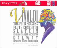 Antonio Vivaldi: The Four Seasons - Anthony Halstead (harpsichord); English Chamber Orchestra (chamber ensemble); James Galway (flute);...