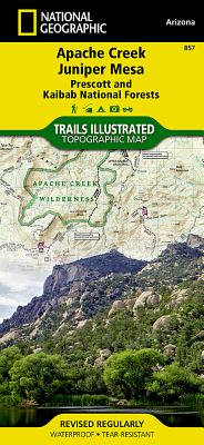Apache Creek Juniper Mesa Wilderness Areas, Prescott National Forests (National Geographic Maps: Trails Illustrated) - Geographic Maps National