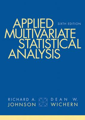 Applied Multivariate Statistical Analysis - Johnson, Richard A, and Wichern, Dean W