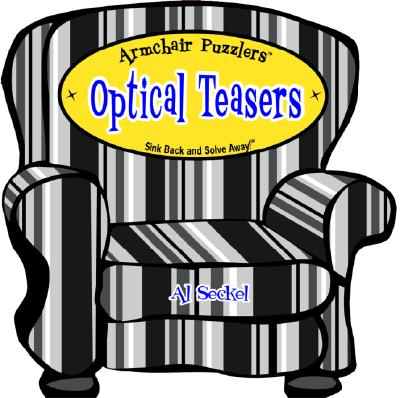 Armchair Puzzlers: Optical Teasers - Seckel, Al