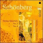 Arnold Schoenberg: String Quartets Nos. 2 & 4