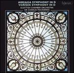 Arriga: Symphony in D; Vorísek; Symphony in D