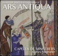 Ars Antiqua - Capella de Ministrers; Isabel Juaneda; Isabel Juaneda (vocals); José Luis Pastor (lauto); Manuel Vilas (arpa);...
