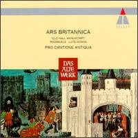 Ars Britannica - Alan Cuckston (organ); Brian Etheridge (bass); Charles Brett (counter tenor); Christopher Keyte (bass);...