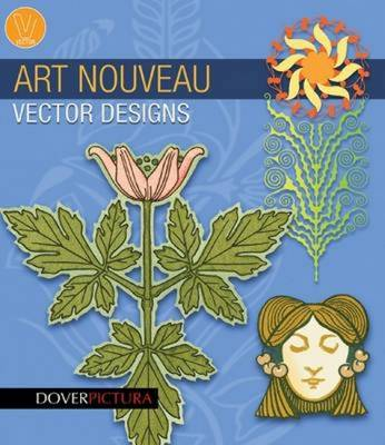 Art Nouveau Vector Designs - Weller, Alan, and Waldrep, Joel (Designer)