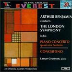 Arthur Benjamin: Concerto; Concertino