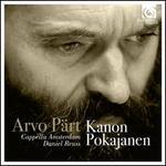 Arvo Part: Kanon Pokajanen