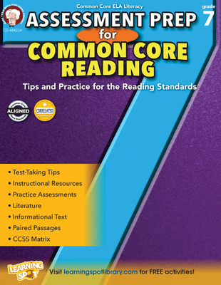 Assessment Prep for Common Core Reading, Grade 7 - Cameron, Schyrlet, and Myers, Suzanne