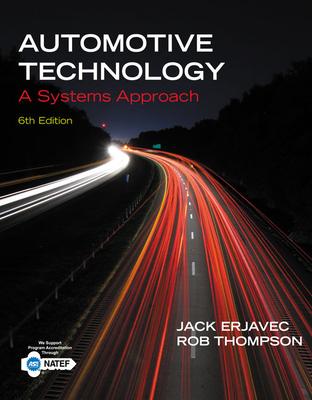 Automotive Technology: A Systems Approach - Erjavec, Jack