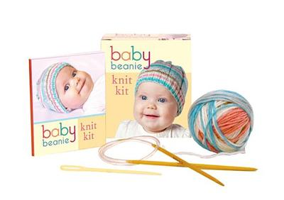 Baby Beanie Knit Kit - Pretl, Julia