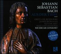 Bach: Aus der Tiefe - Ann Vanlancker (bassoon); Bernard Foccroulle (organ); Christian Moreaux (bassoon); Christine Angot (viola);...