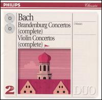 Bach: Brandenburg Concertos (Complete) - Erich Penzel (horn); Felix Ayo (violin); Felix Ayo (violin piccolo); Frans Brüggen (recorder); Gerd Haucke (horn); Hans Kull (oboe); Heinz Holliger (oboe); I Musici; János Scholz (viola da gamba); Jeanette Van Wingerden (recorder); Karl Weihs (bassoon)