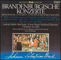 Bach: Brandenburgische Konzerte - Neues Bachisches Collegium Musicum Leipzig; Max Pommer (conductor)
