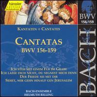 Bach: Cantatas, BWV 156-159 - Adalbert Kraus (tenor); Aldo Baldin (tenor); Hildegard Laurich (alto); Julia Hamari (alto); Kurt Equiluz (tenor);...