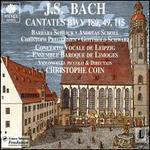Bach: Cantatas BWV 49, 115 & 118