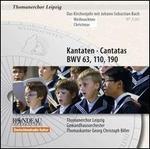 Bach: Cantatas, BWV 63, 110, 190